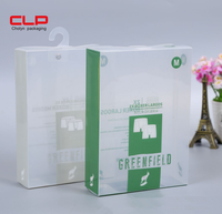 Clear PP Plastic Customized Printing Underwear Packaging Box