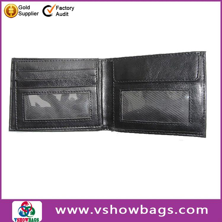 Factory OEM Customized Credit Pu Leather Man Wallet ,Money Clip Leather Wallet for Men