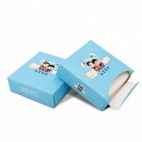 Restaurant mini tissue with advertising coin tissue paper box