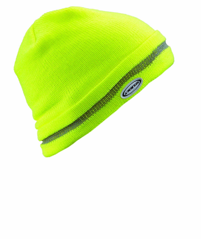 226416cfafc Seirus Innovation 8047 Hi-Vis Workman Knit Beanie Hat - High Visibility  Yellow