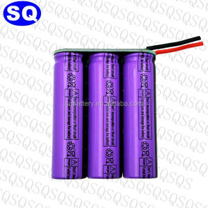 7.2 V fast charging lithium titanate battery pack 18650 23680 for robots