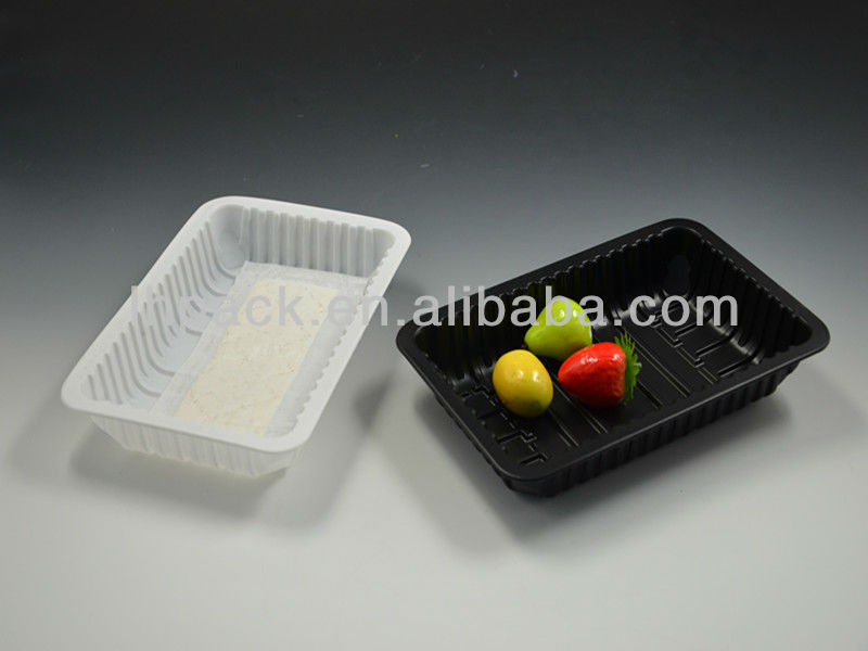 PP Black Meat Tray