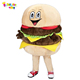 Enjoyment CE adult Fast Food Hamburger Mascot Costume for sale