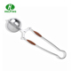 Manufacturer commercial ball shape mesh green tea filter with handle