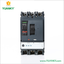 YUANKY IEC authentication 415V 3P Moulded Case Circuit Breaker 400 amp MCCB