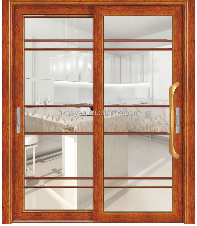 Low Price waterproof glazed safe aluminium sliding doors price of door with best