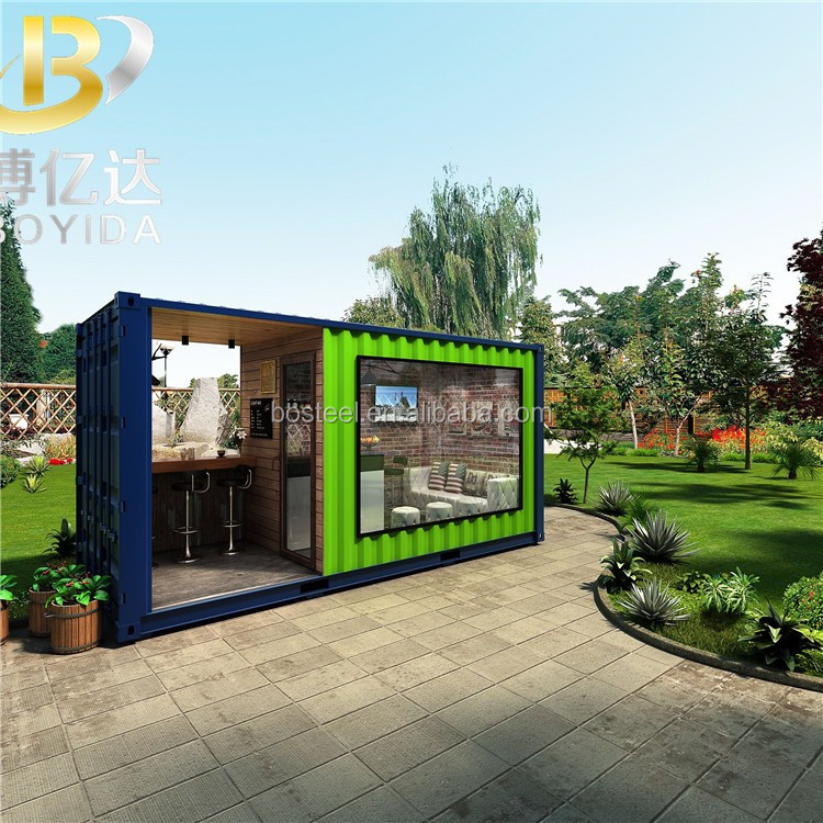 China suppliers Expandable outdoor mobile container coffee shop kiosk