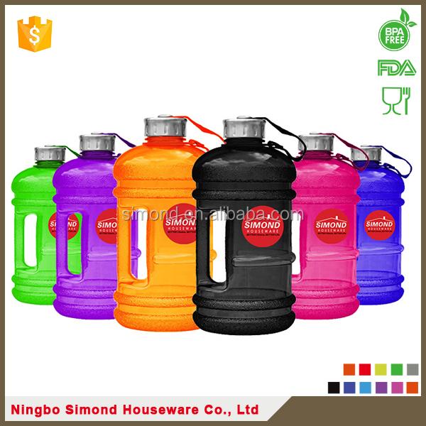1 gallons en plastique cruche d 39 eau avec poign e usine bouteille id de produit 60347300109. Black Bedroom Furniture Sets. Home Design Ideas