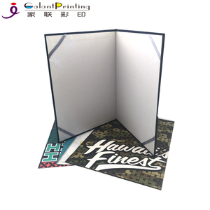 Fashion Certificate Holders Classic Cardboard Paper Certificate file Folder