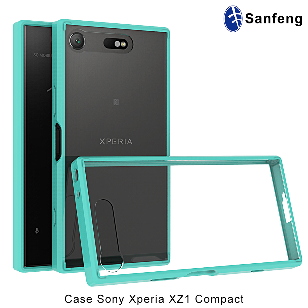 Offer Professional Photograph Silk Printing Logo Colorful Frame Phone Cover for Sony Xperia XZ1
