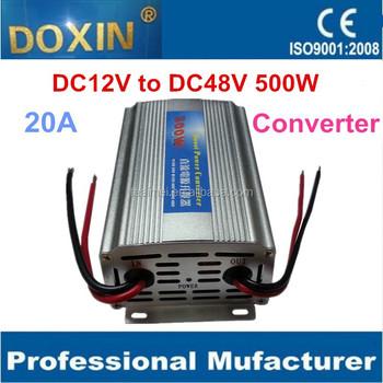 Dc To Dc 12v 48v 20a 500w Step Up Truck Mini Converter