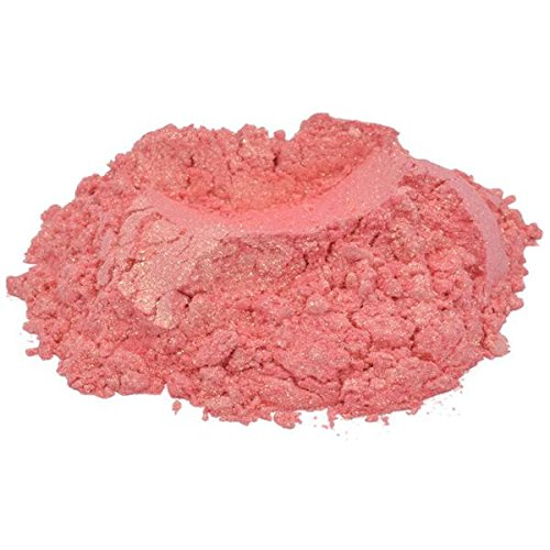98c8933bcef7 Get Quotations · MyMix Genna Pink Coral Orange Luxury Mica Colorant Pigment  Powder Cosmetic Grade Glitter