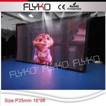 Flykostage P35MM lights disco led backdrop/led stage backdrop