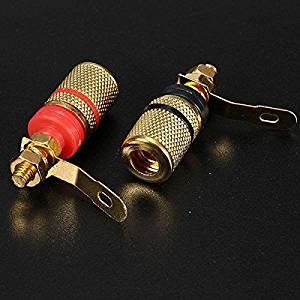 Pink Lizard 12X2Pcs Speaker Terminal Binding Post Banana Plug Socket Connector