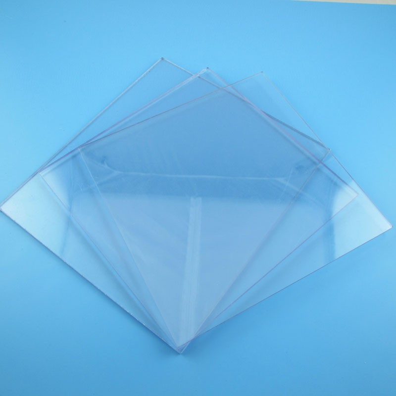 Clear High Impact Polystyrene Hips Plastic Sheet / Clear Hips ...