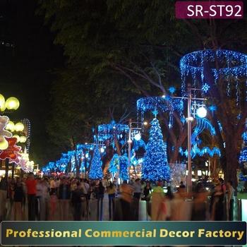 Custom Commercial Exterior LED Christmas Light Street Decorations LED Motif  Light