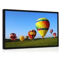4K LCD Panel 43 inch outdoor sunlight readable lcd monitor with optical bonding capacitve touch screen panel