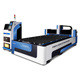 3000W 3KW IPG laser generator fiber laser metal cutting machine with pipe welding working bed