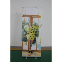Economic Roll up banner stand, Rollups, Roll up stand X banner L banner