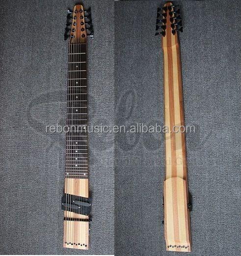 Weifang Rebon 10 string electric bass guitar фото