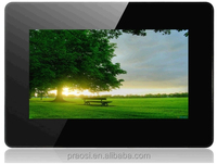 7 inch 16:9 lcd wall mounted digital photo frame support sd and usb flash drive / multifunctonal digital frame