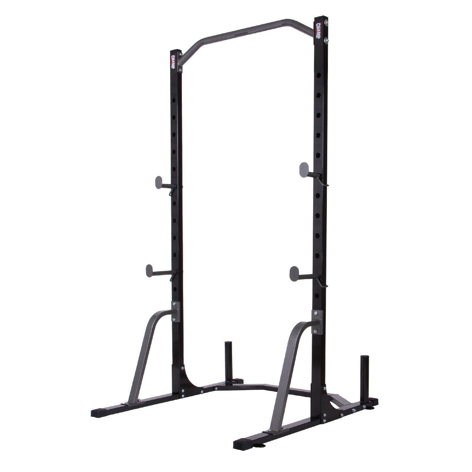 Beautiful Body Champ PBC530 Power Rack System With Olympic Weight Plate Storage
