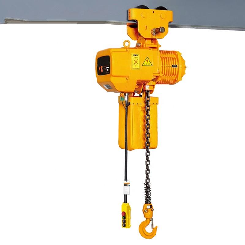 Indef electric chain hoist short flexible tap tails