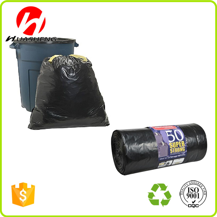 Heavy Duty Black Refuse Sacks Extra Strong Garbage Trash Bags Dustbin Liner