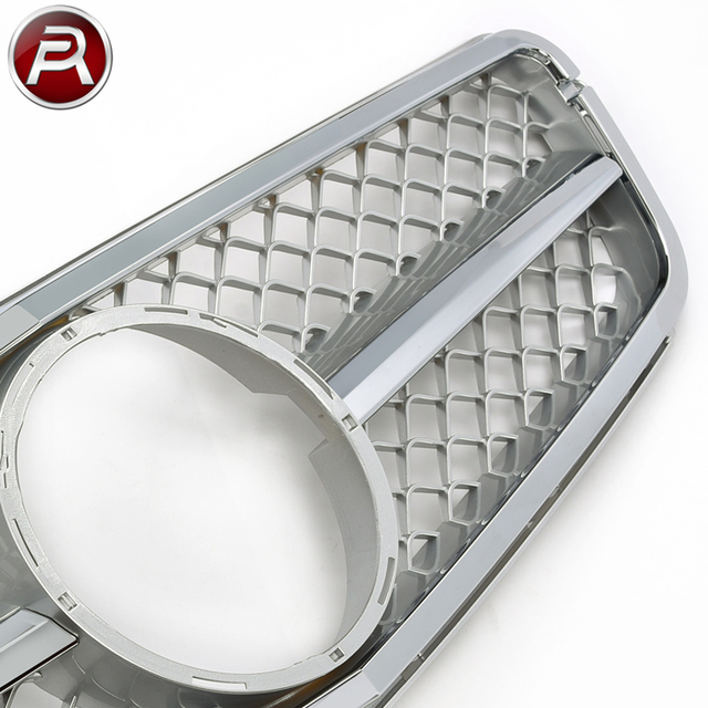 Mesh Car Grille W204 amg Body Kit for Mercedes C-Class New Mercedes Grill