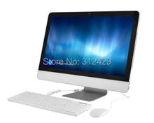 21.5inch All In One computer with 2.1g CPU,HD3000GPU,desktop slim home all in one PC