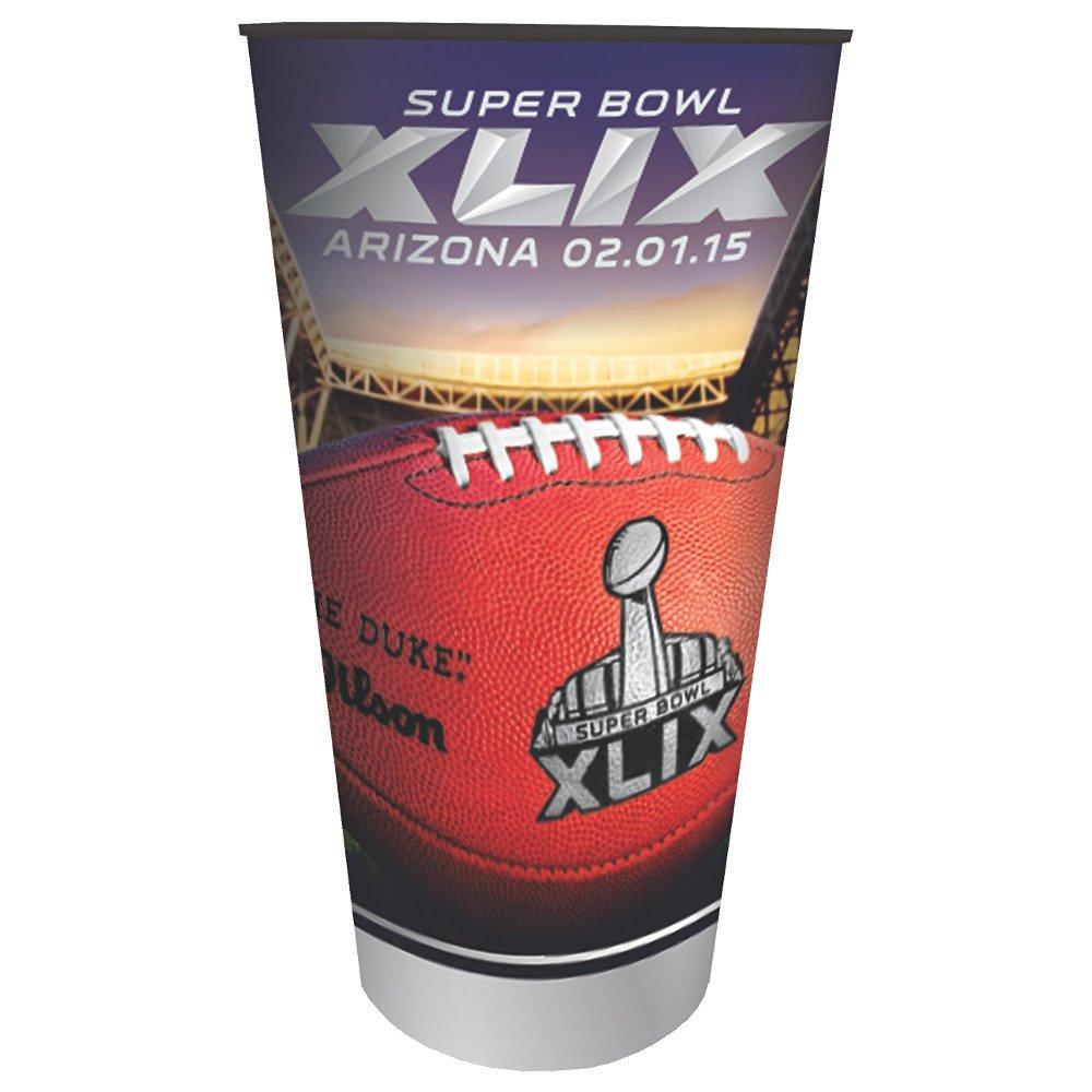 Creative Converting Arizona Super Bowl 2015 Stadium Cup, 32-Ounce