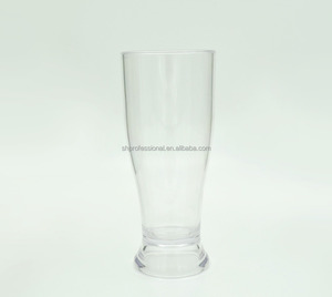 Wholesale pilsner OEM customized glass beer bar cup for promotion