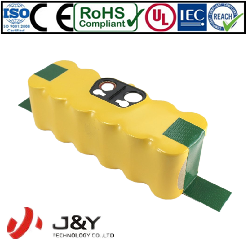 14.4V Ni-Mh 2500mAh Vacuum Cleaning Rechargeable Battery for iRo bot Roomba 530 510 532 550 540 500 530 80501 610 R3