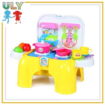 Multifunction Toys Top Table Kitchen Play Set For Children Toys Kitchen Play  Set