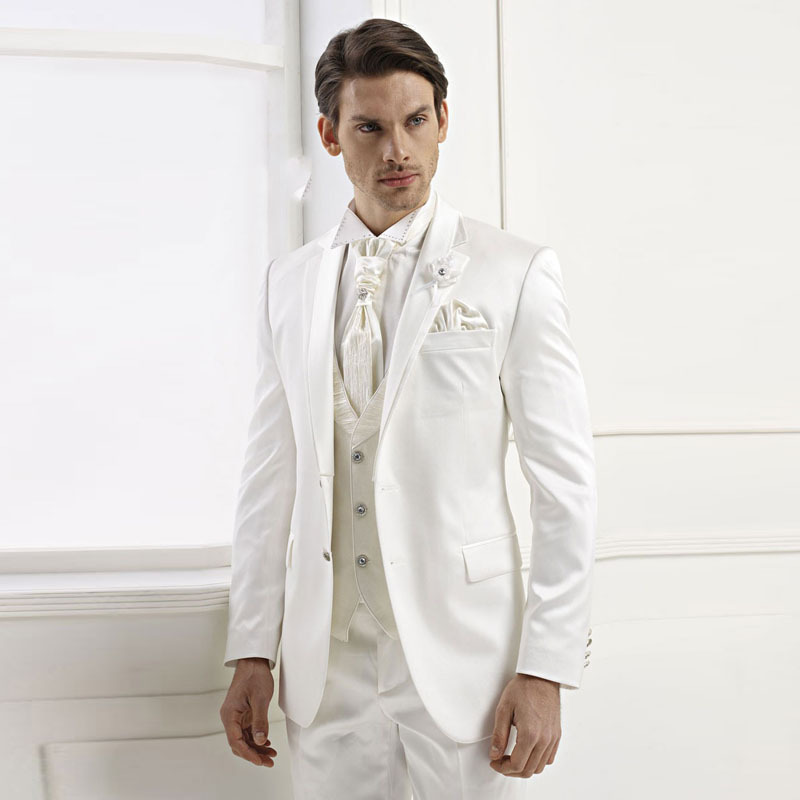 Cheap White Grooms Suit, find White Grooms Suit deals on line at ...