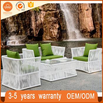 Waterproof Bunnings Style Outdoor Furniture Garden Clics Rattan Composite Table Set