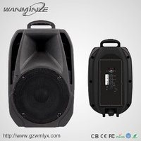 Active 8 inch ibastek bluetooth outdoor 40w trolley speaker with strong amplifier