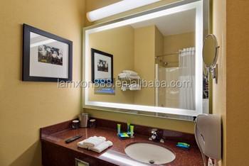 Modern Design Star Hotel Bathroom Led Lighting Wall Mounted Mirror ...
