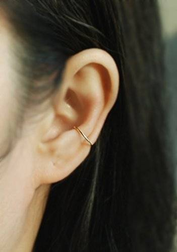 Ear Cuff, 20gauge Fake conch piercing,Fake Body Piercing,No Piercing Cartilage Ear Cuff, Ear Jacket, Ear Wrap,Gift for her, Please select an option.
