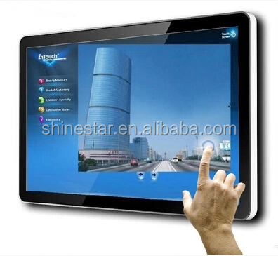 21.5 inch network WIFI android touch screen advertising signage monitor