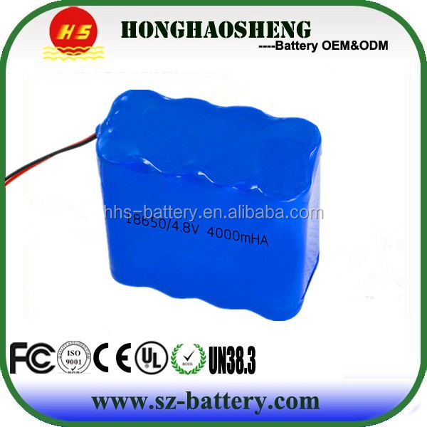Three safety charge li ion battery 3000mAh 18650 Battery Pack 28.8V