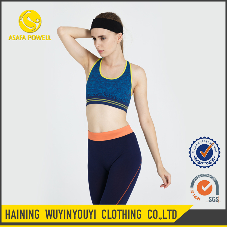 Cross Wide Straps Back Design Medium Support And Coverage Fit For Yoga Running Custom Woman Fitness Wear