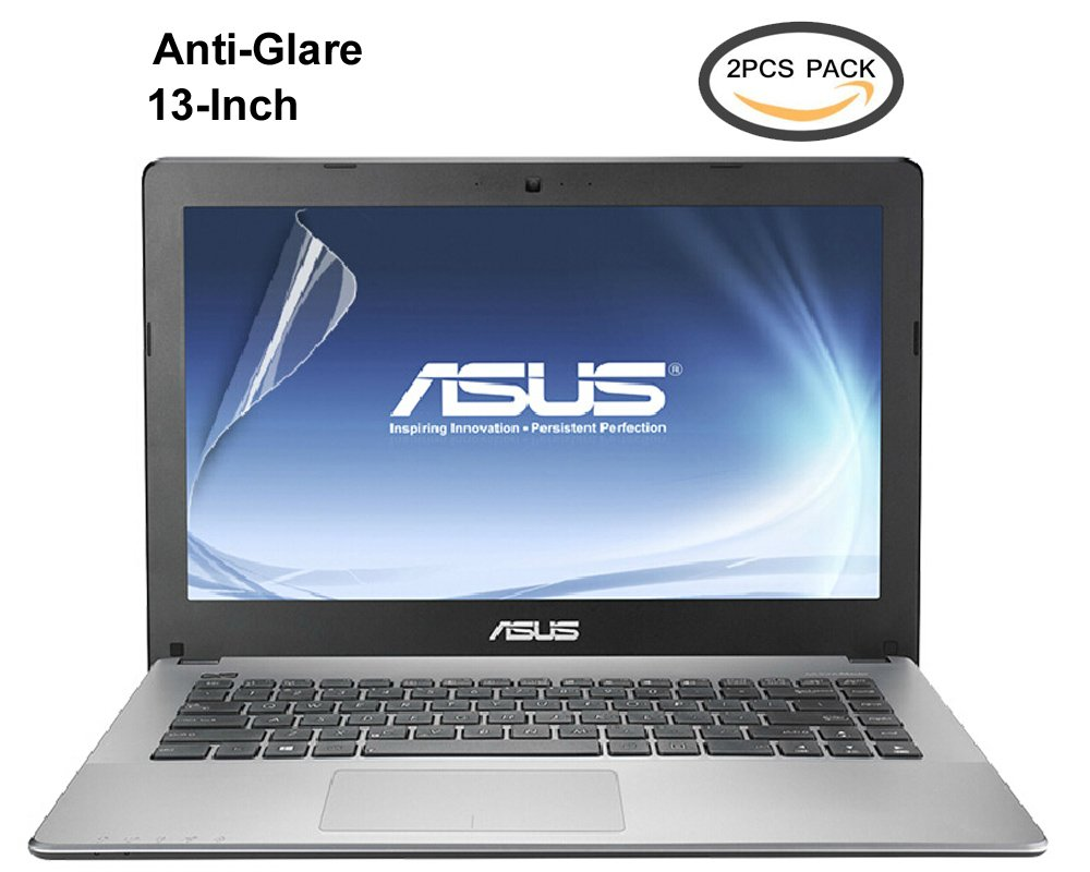 "(2PCS Pack) 13.3"" Anti-Glare Anti-Scratch Laptop Screen Protector for ASUS ZenBook UX32A UX330CA UX330UA UX305 UX305UA 13.3 Inch Series(16:9), 2-Piceces/Pack"