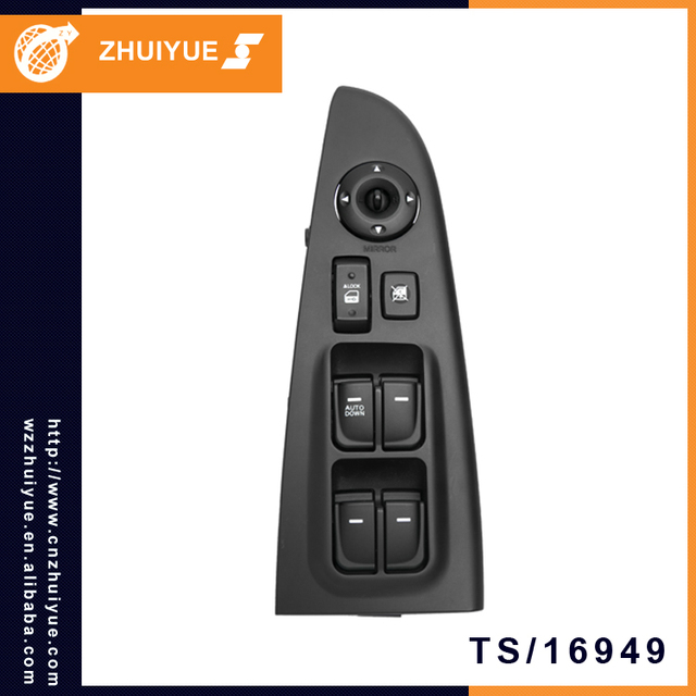 ZHUIYUE 93570 2H000 / 93570 0Q000 Korea Auto Parts Electric Power Window Master Switch