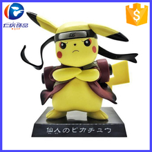 Japan Anime Figure Pocket Monster Pikachu Cos Naruto 10cm Toy Action Figure