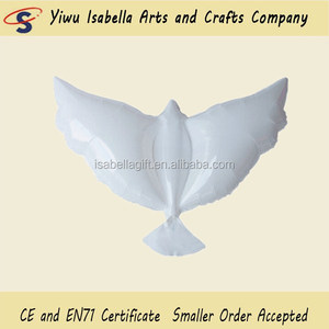 Biodegradable Pigeon Balloons Wedding Decorations Dove Balloons