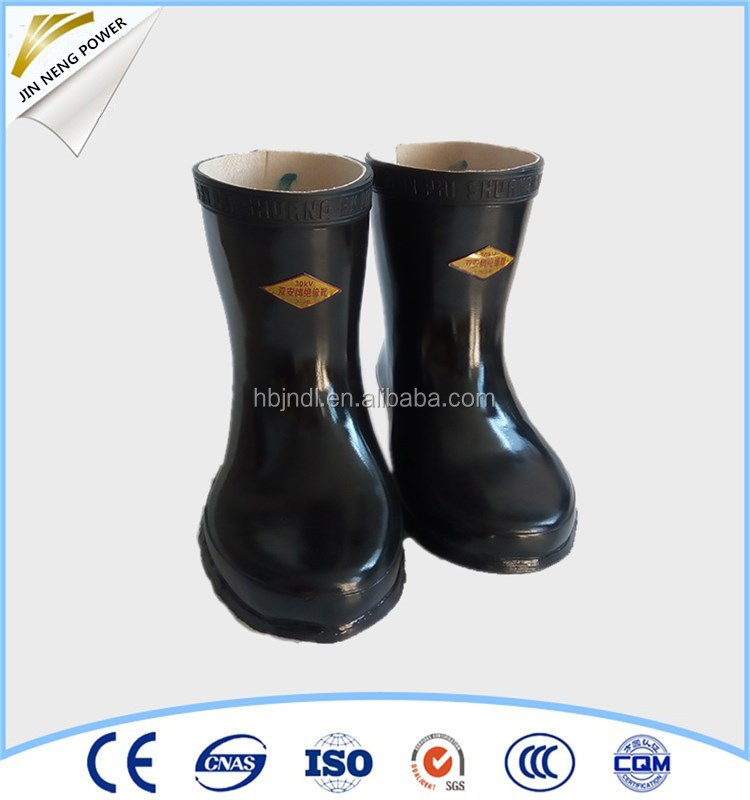 China professional manufacturer rubber safety work boots