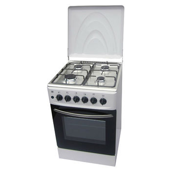 4 Burners Free Standing Camping Gas Oven With Steam Oven