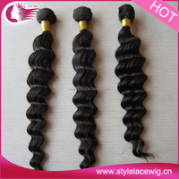 Unprocessed Italian Curl Hair Weave Factory Price