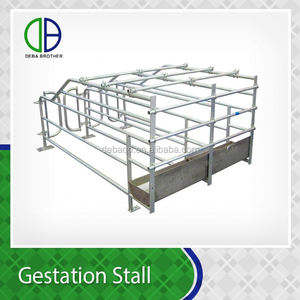 Competitive Price Metal Pig Gestation Crates